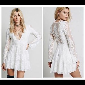 Free people reign over me Dress.